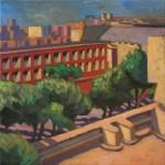 Hélène Courtois-redouté atelier ocres artiste peintre art créateur ville Dinan côtes-d'armor tourisme bretagne