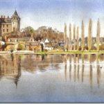 Robert Donovan aquarelles artiste Dinan tourisme côtes d'armor bretagne