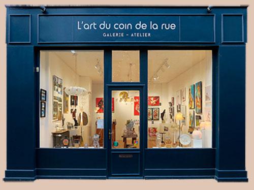 galerie l'art au coin de la rue à Dinan