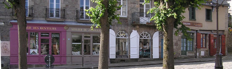 Ville médiévale Dinan Côtes d'Armor Bretagne tourisme