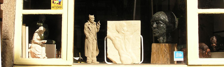 Poiron sculpteur Dinan Jerzual