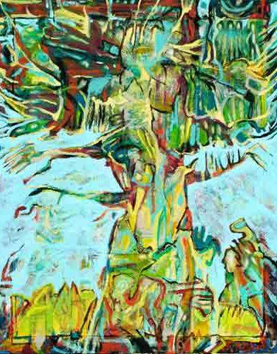 fabrice rabin peinture artiste art créateur ville Dinan léhon côtes-d'armor tourisme bretagne