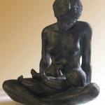 sculpture poiron artiste art créateur ville Dinan jerzual côtes-d'armor tourisme bretagne
