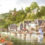 Robert Donovan aquarelles artiste art créateur ville Dinan côtes-d'armor tourisme bretagne