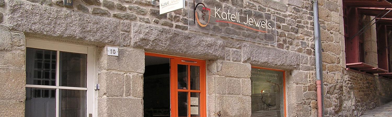 Katell Jewels créateur création bijoux contemporains Ville médiévale Dinan Côtes d'Armor Bretagne tourisme