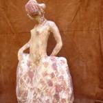 sculpture terre cuite pasino artiste art créateur ville Dinan côtes-d'armor tourisme bretagne