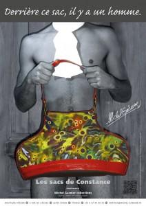 Les sacs de Constance michel gasnier artiste artisan d'art créateur ville Dinan côtes-d'armor tourisme bretagne