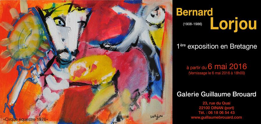 invitation Bernard Lorjou