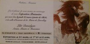 Exposition-concert de Lilit Danielyan