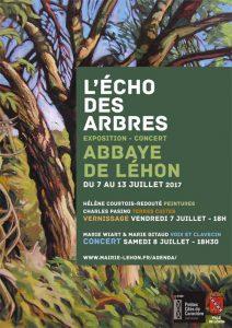 Exposition Abbaye Léhon artiste créateur ville Dinan côtes-d'armor tourisme bretagne