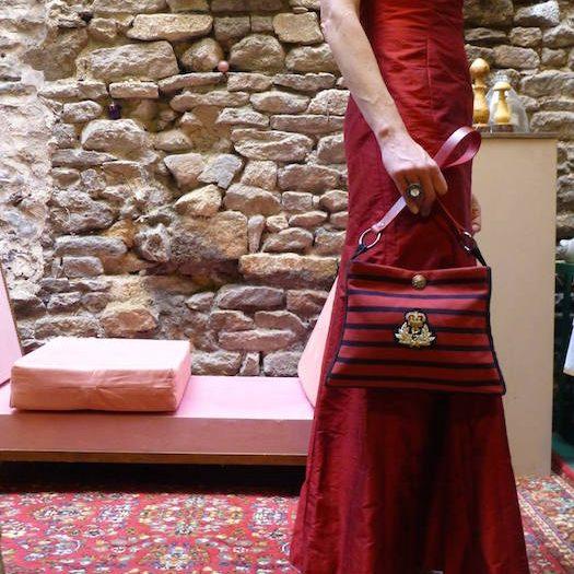 robe création michel gasnier créateur sacs mode accessoires Dinan tourisme côtes d'armor bretagne