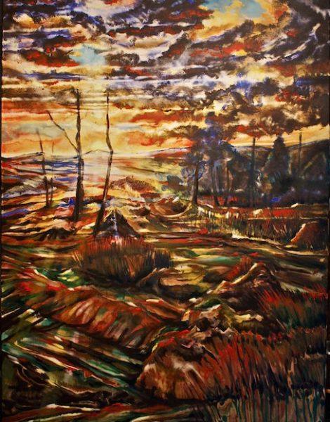 Fabrice Rabin artiste peintre Dinan tourisme côtes d'armor bretagne