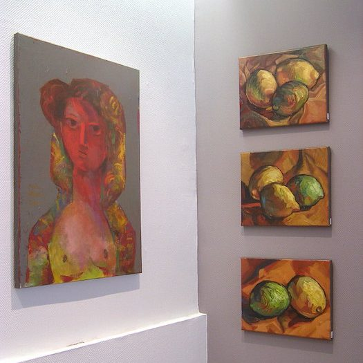 galerie Le Gisant artiste peintre créateurs artistes Dinan tourisme côtes d'armor bretagne