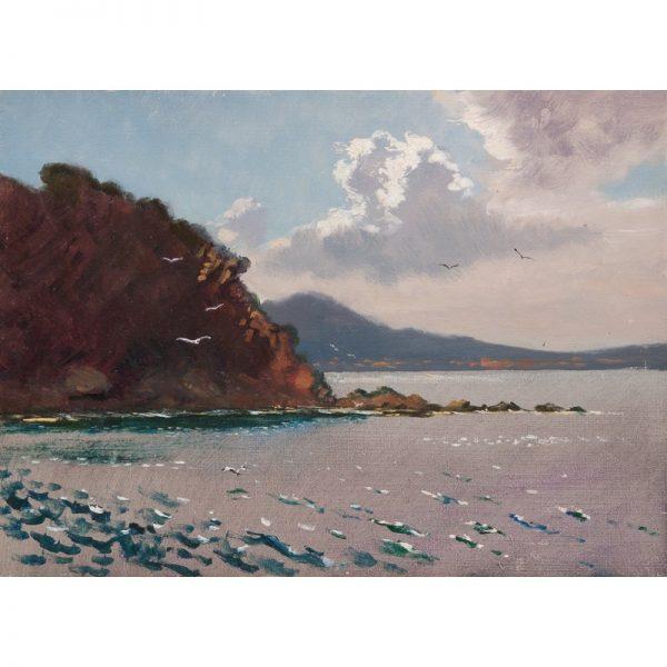mer Rinat Animaev artiste peintre Dinan tourisme côtes d'armor bretagne