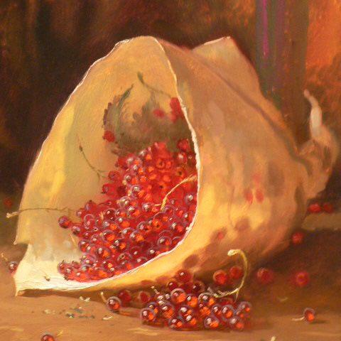groseilles Rinat Animaev artiste peintre Dinan tourisme côtes d'armor bretagne