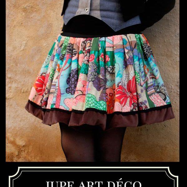 JUPE-BOULE-ART-DECO artiste artisan d'art créateur ville Dinan côtes-d'armor tourisme bretagne