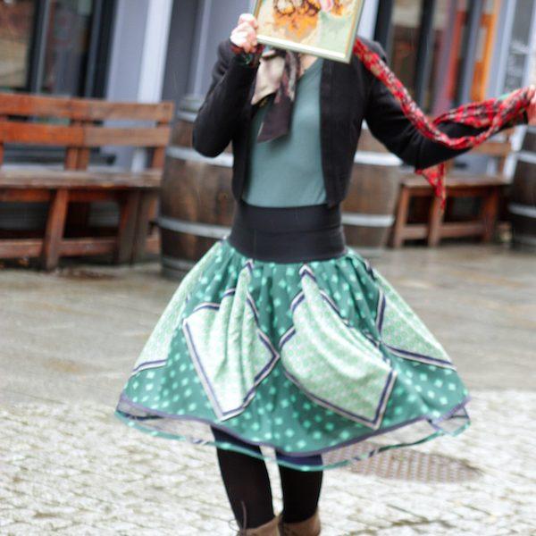 TARTINE DE LAINE jupe artiste artisan d'art créateur ville Dinan côtes-d'armor tourisme bretagne