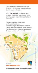 plan d'accès Le 12 onz'bouge Art'Dinan 2018
