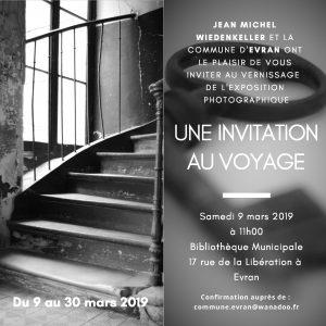 exposition photographies bibliothèque d'Evran jean-Michel Wiedenkeller