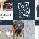 vernissage galerie l'art au coin de la rue à Dinan