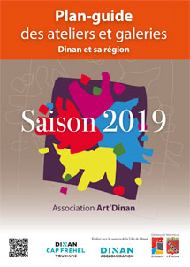 dépliant association Art'Dinan 2019