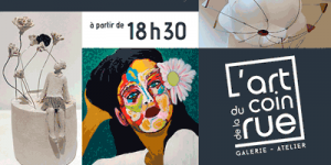 vernissage galerie l'art du coin de la rue 13 septembre 2019 dinan