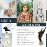 Exposition galerie d'art à Dinan en Bretagne