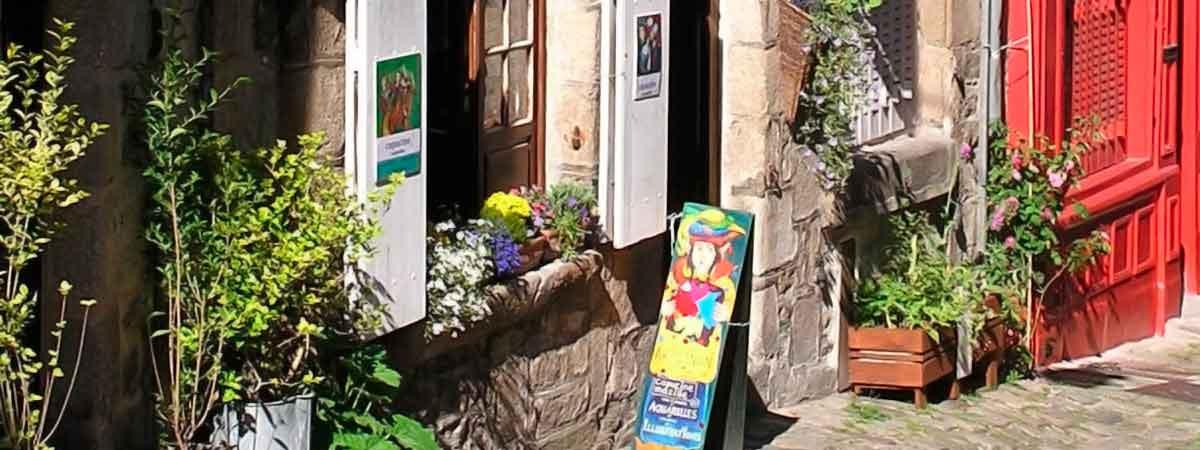 Atelier d'illustration dans le Jerzual à Dinan