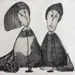 Gravure de Brigitte Touvron