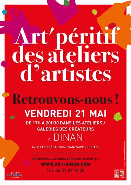 Art'péritif des ateliers et galeries le 21 mai : retrouvons-nous !