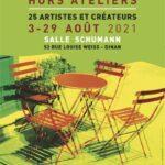 """Exposition Art'Dinan """"hors ateliers 2021"""" salle schumann"""