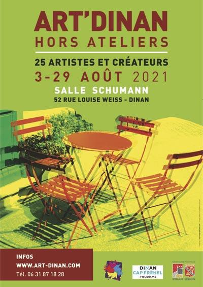 """Exposition Art'Dinan """"hors ateliers"""" salle schumann"""