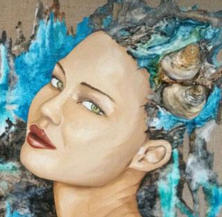 Peinture femme, Enora Gwenn