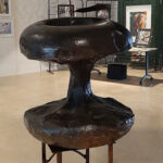 Pomme sculpture