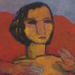 peinture contemporaine portrait de Pasino