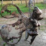 sculpture métal Laetitia Lavieville